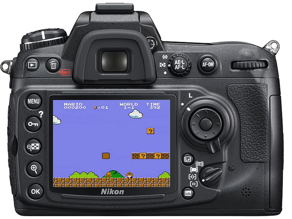 Video game DSLR Camera