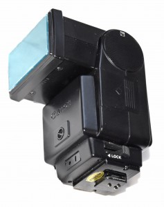 UV Modded Canon 199A Flash